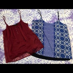 2 NWT The Limited Camis/Tank Tops Size M